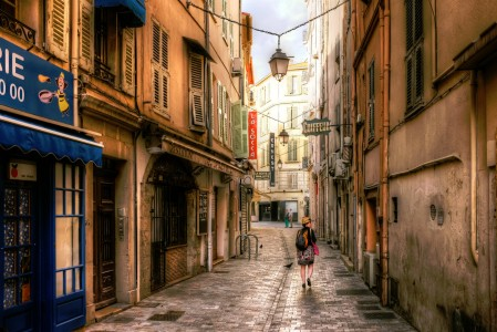Cannes Street Jigsaw Puzzle
