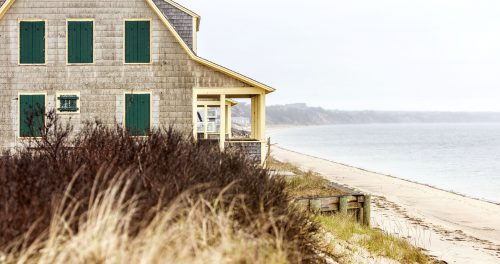 Cape Cod Beachfront Jigsaw Puzzle
