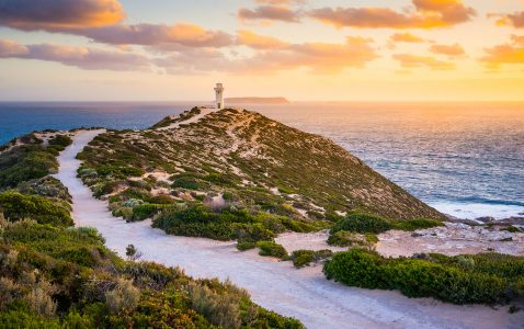 Cape Spencer Lighthouse Jigsaw Puzzle