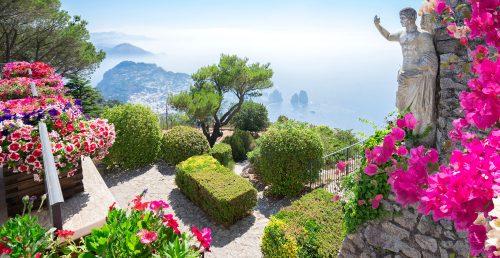 Capri Garden Jigsaw Puzzle