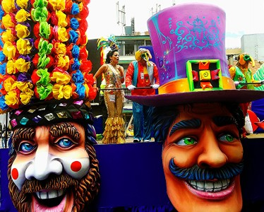 Carnival Float Jigsaw Puzzle