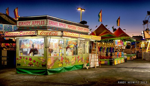 Carnival Food Stand Jigsaw Puzzle