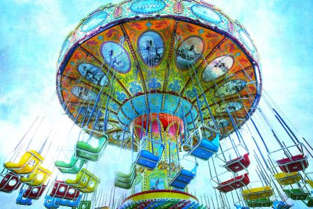 Carnival Swings Jigsaw Puzzle