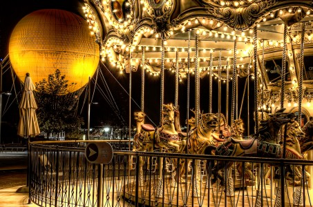 Carousel Jigsaw Puzzle