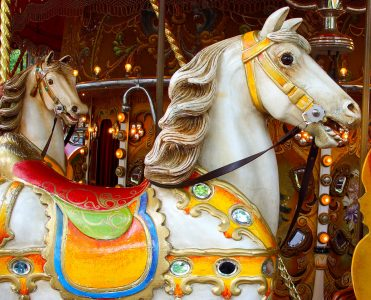 Carousel Horse Jigsaw Puzzle