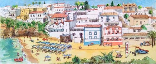 Carvoeiro Beach Jigsaw Puzzle