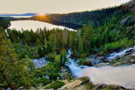 Cascade Falls Jigsaw Puzzle
