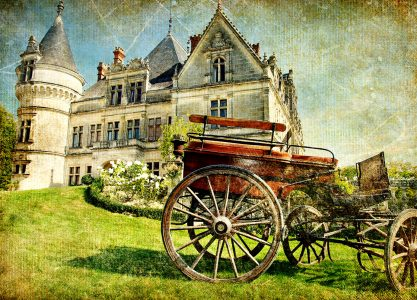 Castle and Carriage Jigsaw Puzzle