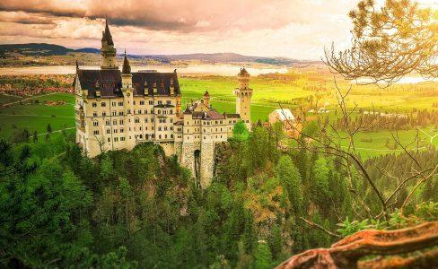 Castle Landscape Jigsaw Puzzle