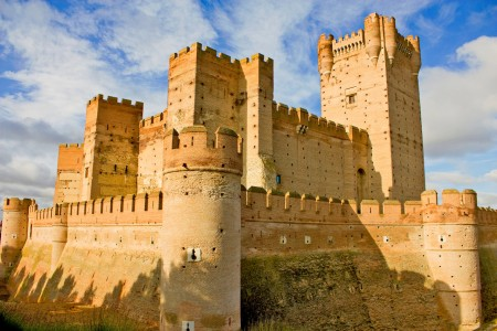 Castle of La Mota Jigsaw Puzzle