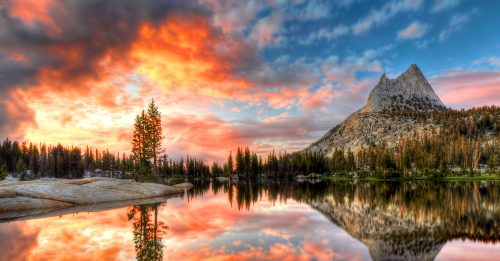 Cathedral Lake Jigsaw Puzzle