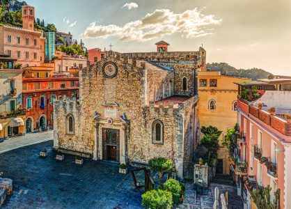 Cathedral of Taormina Jigsaw Puzzle