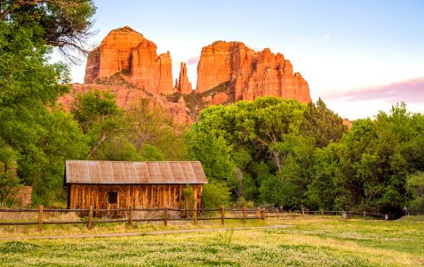Cathedral Rock Jigsaw Puzzle
