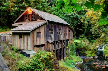 Cedar Creek Mill Jigsaw Puzzle