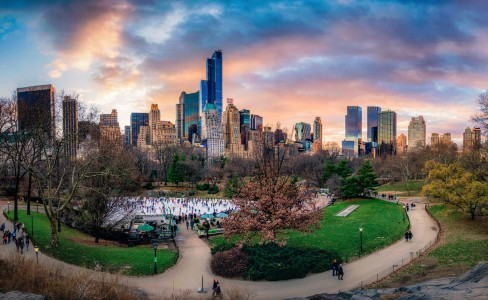 Central Park Pano Jigsaw Puzzle