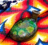Ceramic and Rug