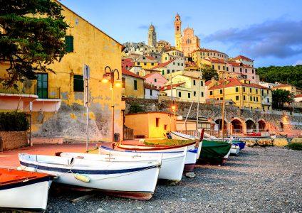 Cervo Boats Jigsaw Puzzle