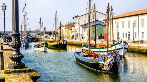 Cesenatico Canal Jigsaw Puzzle