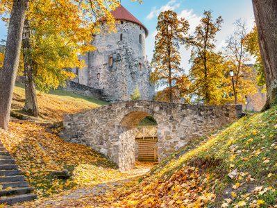 Cēsis Castle Jigsaw Puzzle