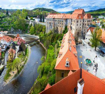 Český Krumlov Castle Jigsaw Puzzle