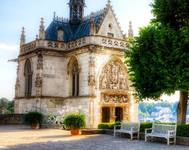 Chapel of Saint Hubert Jigsaw Puzzle
