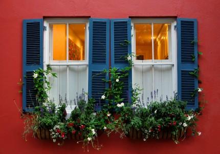 Charleston Windows Jigsaw Puzzle