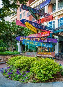 Charlotte Signpost Jigsaw Puzzle