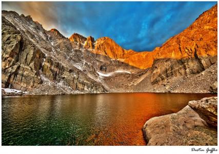 Chasm Lake Jigsaw Puzzle