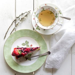 Cheesecake and Tea Jigsaw Puzzle