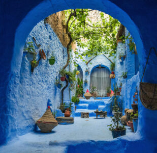 Chefchaouen Grotto Jigsaw Puzzle