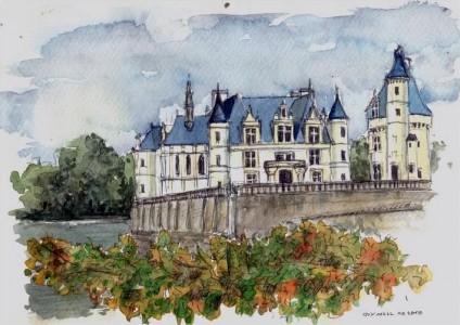 Chenonceaux Castle Jigsaw Puzzle