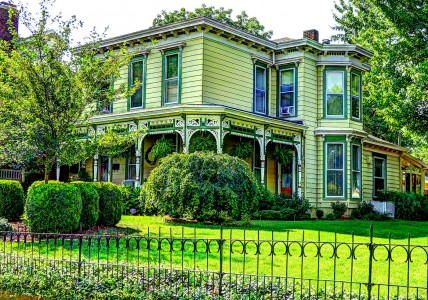 Cherry Street House Jigsaw Puzzle