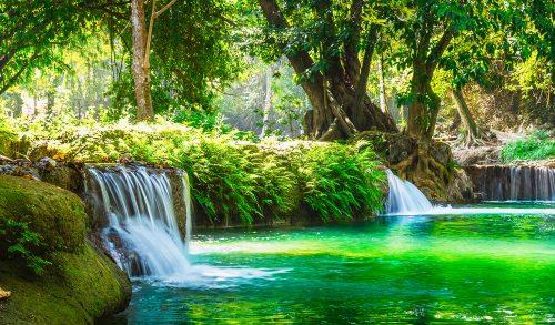 Chet Sao Noi Waterfall Jigsaw Puzzle