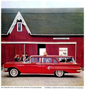 Chevy Station Wagon Jigsaw Puzzle