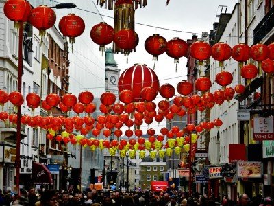 Chinatown New Year Jigsaw Puzzle
