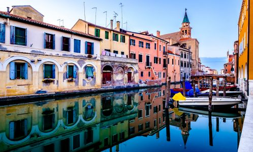 Chioggia Canal Jigsaw Puzzle