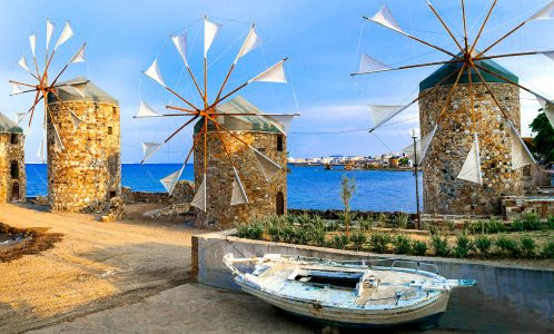 Chios Windmills Jigsaw Puzzle