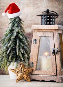 Christmas Candle Lantern Jigsaw Puzzle
