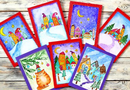 Christmas Cards Jigsaw Puzzle