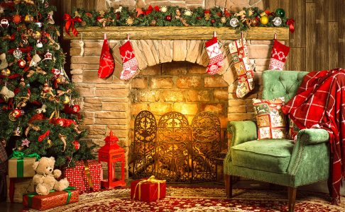 Christmas Fireplace Jigsaw Puzzle