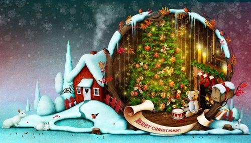 Christmas Home Jigsaw Puzzle