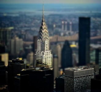 Chrysler Building Jigsaw Puzzle