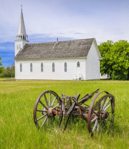 Church at Batoche Jigsaw Puzzle