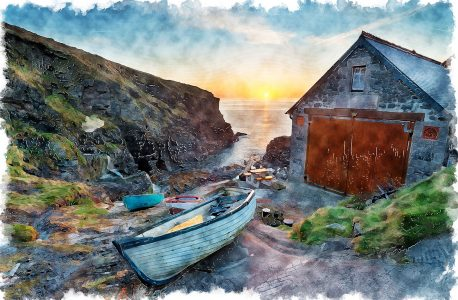 Church Cove Jigsaw Puzzle