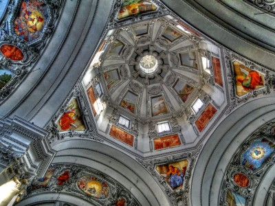 Church Dome Jigsaw Puzzle