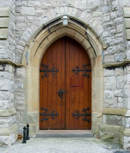 & Church Door Jigsaw Puzzle