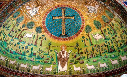 Church Mosaic Jigsaw Puzzle