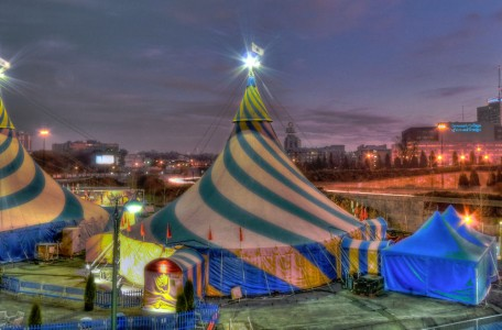 Circus Tents Jigsaw Puzzle