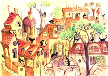 City Cats Jigsaw Puzzle