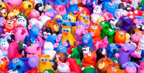 Clay Toys Jigsaw Puzzle